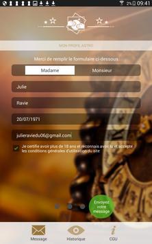 Contact Voyant apk screenshot