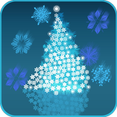 Colorful Snowflakes LWP icon