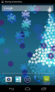 Colorful Snowflakes LWP poster