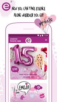 essence beauty app poster