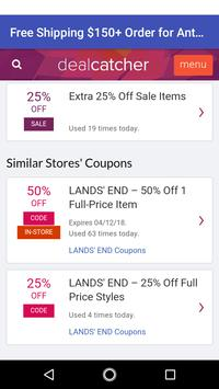 Coupons for Anthropologie screenshot 4