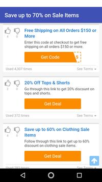 Coupons for Anthropologie screenshot 2