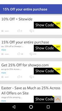 Coupons for Showpo screenshot 17
