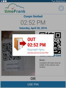 timeFrank apk screenshot