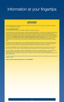 COPAXONE iTracker® screenshot 3