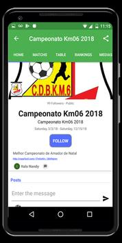 3 Schermata Coppa Facile, Organizzatore di tornei
