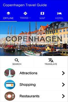Copenhagen Travel Guide poster
