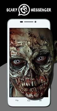Scary Messenger - Terror Game syot layar 2