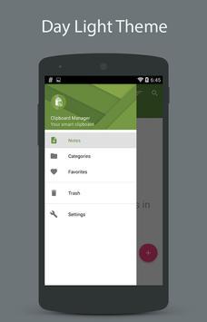 Clipboard Manager apk screenshot