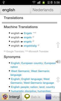 Alle Engels Woordenboek screenshot 1