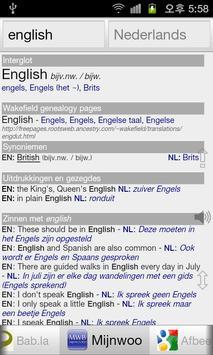 Alle Engels Woordenboek screenshot 2
