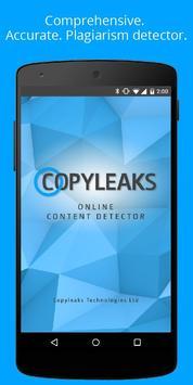 Copyleaks poster