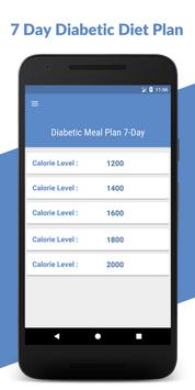 7 Day Diabetic Diet Plan: Diabetic Patients Diet poster