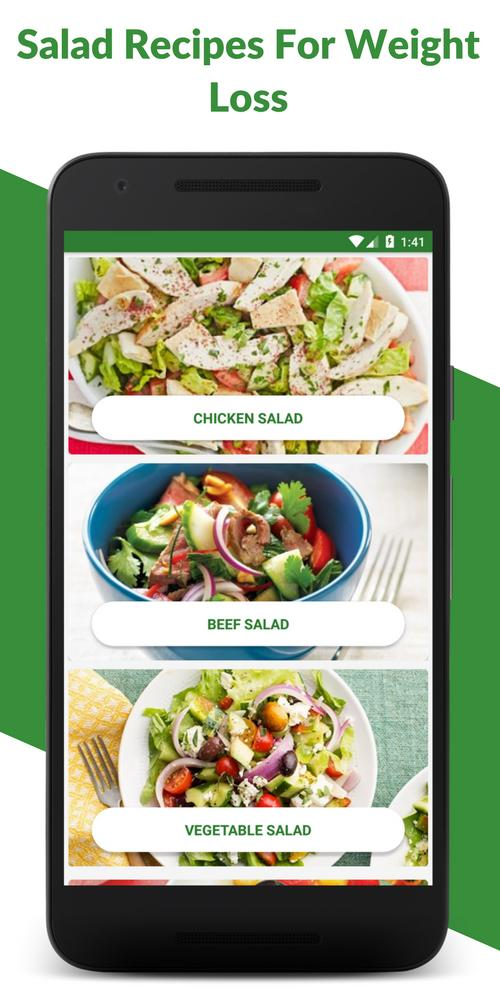 Salad Recipes Healthy Salads For Weight Loss For Android Apk Download