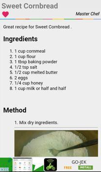 Corn Bread Recipes Full screenshot 2