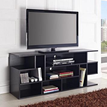 corner tv stand ideas Cartaz