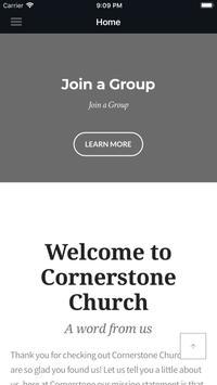 Cornerstone Church Chowchilla screenshot 4