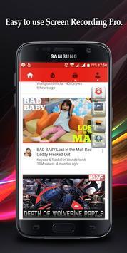 Screen Recorder Pro Free apk screenshot