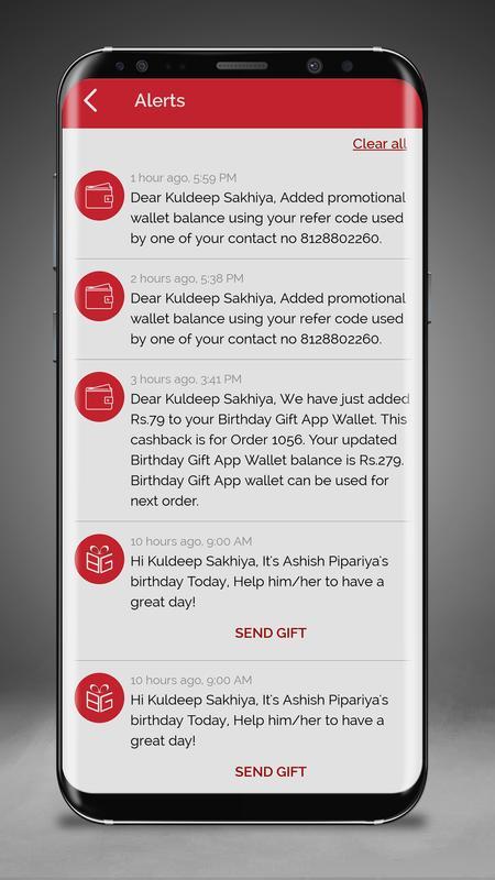 Birthday Gift App Screenshot 6