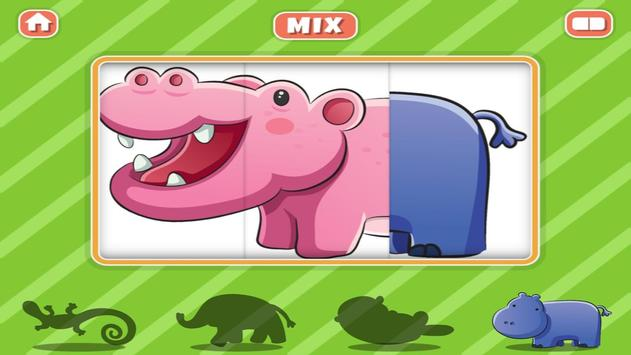 Animal Mix and Match Puzzle apk screenshot