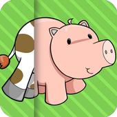 Animal Farm Mix & Match Kids icon