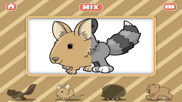Animal Farm Mix & Match Kids apk screenshot
