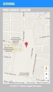 Geosignal captura de pantalla 1
