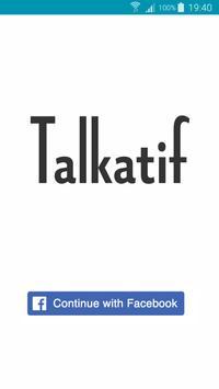 Talkatif poster