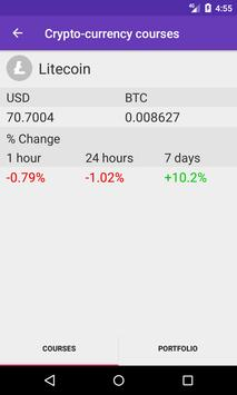 Cryptocurrencies apk screenshot