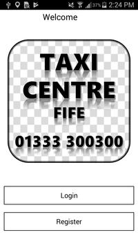 Taxi Centre Fife Ltd poster