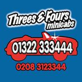 Threes & Fours icon