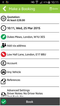 Thriev Electric Taxi London screenshot 2