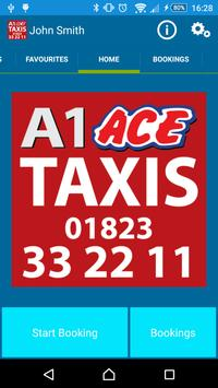 A1 Ace Taxis (Somerset) poster