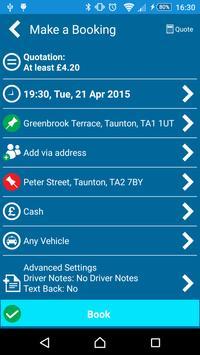 A1 Ace Taxis (Somerset) apk screenshot