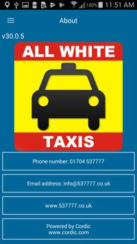 All White Taxis screenshot 4