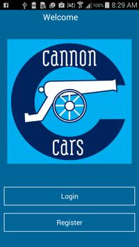 Cannon Cars poster