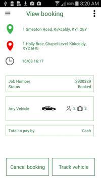 Eco Friendly Taxis Booking App apk screenshot