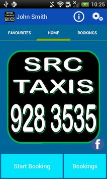 SRC Taxis Liverpool poster