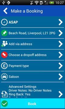 SRC Taxis Liverpool screenshot 2