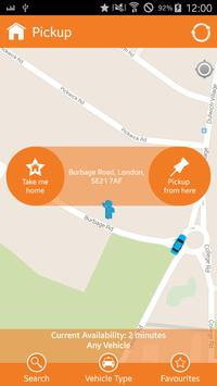 KVC LONDON MINICABS & TAXIS screenshot 1