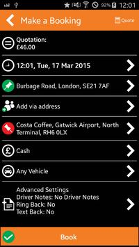 KVC LONDON MINICABS & TAXIS screenshot 2