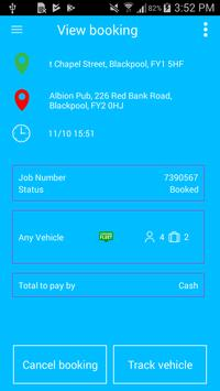 Premier Taxis Booking App screenshot 3