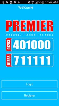 Premier Taxis Booking App poster