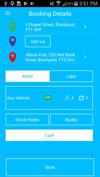 Premier Taxis Booking App screenshot 2