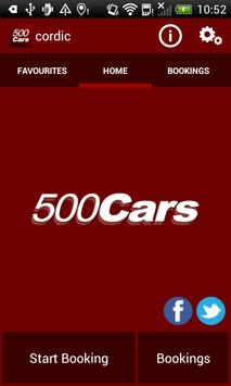 500 Cars Reading Taxis poster