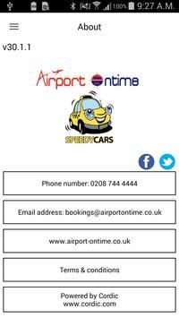 AirportOnTime/SpeedyCars screenshot 4