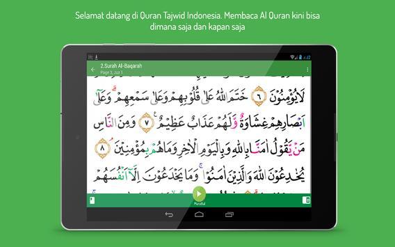 Quran Tajwid Indonesia apk screenshot