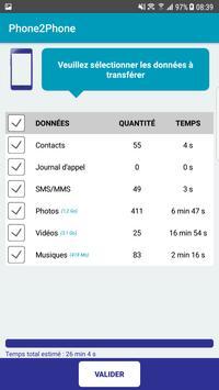 Phone2Phone screenshot 2