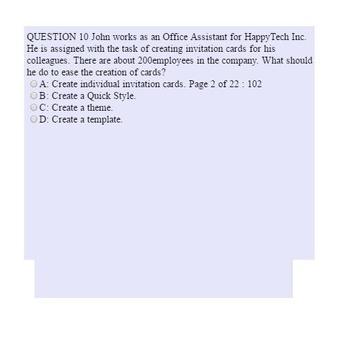 Exam 77-881 apk screenshot