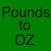 Pounds to Ounces Converter icon